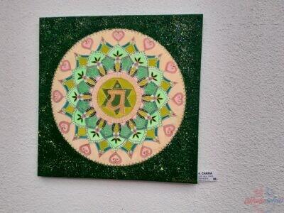 mandala a iné abstraktné obrazy