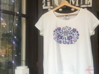 Malované tričká