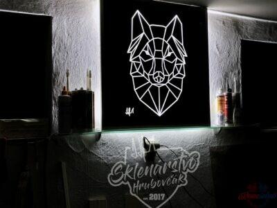 Podsvietený obraz : Vlk