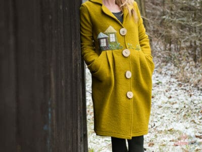 Prechodný vlnený kabátik