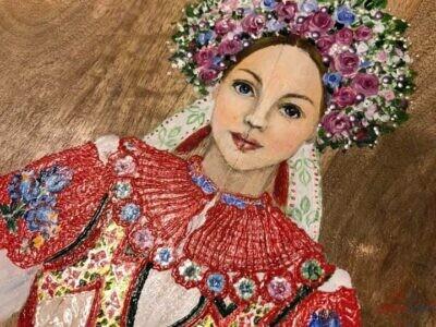 Maľba na drevo : Folklór