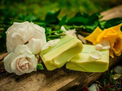 Mydlo olivový háj s vôňou kvetov