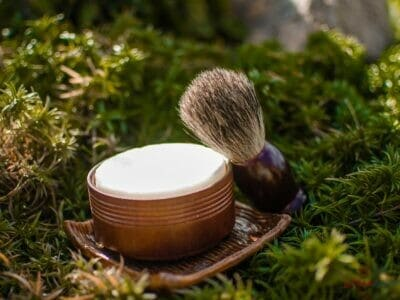 Ručne robené mydlo na mokré holenie