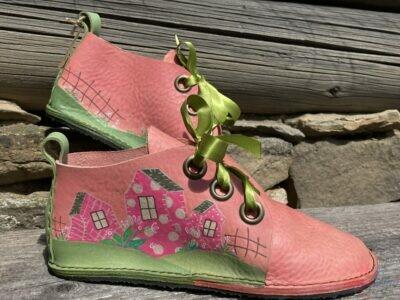 Ručne šité kožené topánky