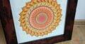 Obraz Mandala autorská tvorba 7.