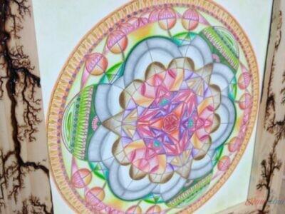 Obraz Mandala autorská tvorba 4.