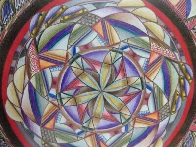 Obraz Mandala autorská tvorba 5.