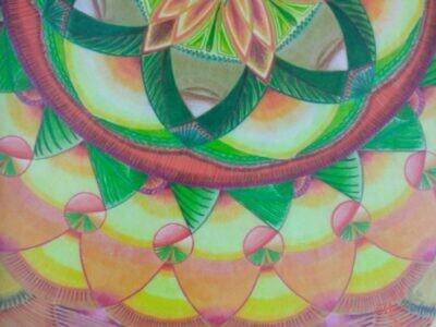 Obraz Mandala autorská tvorba 6.