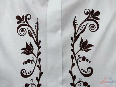 Pánska bavlnená košeľa s originálnym vzorom